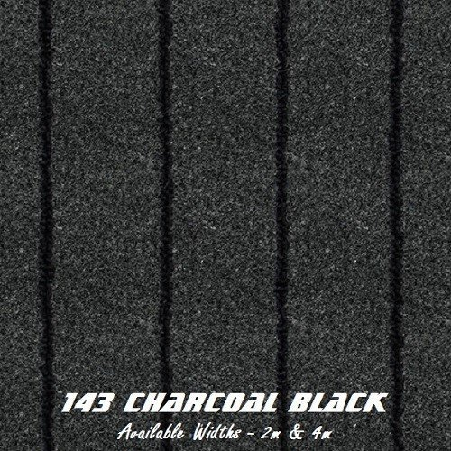 Charcoal Black Marine carpet
