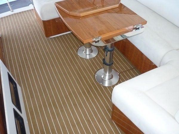 Marine Carpet Colour Teak Cream