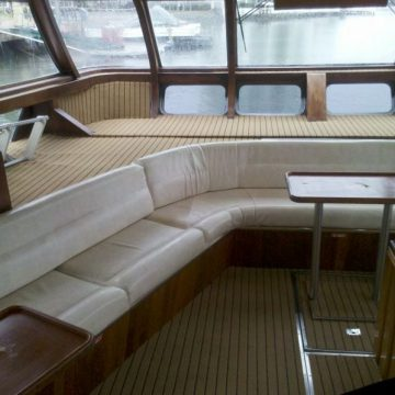 Marine Carpet Teak Teak Black
