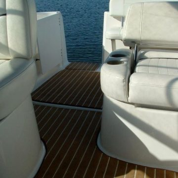 Marine Carpet Teak Teak Cream
