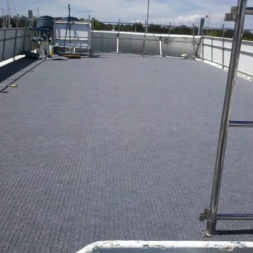 Outdoor Marine Carpet Ribbed Meterorite