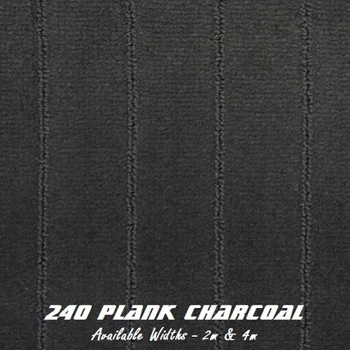 Plank Charcoal Marine Carpet