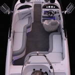 Designed for the marine and boating flooring industry.