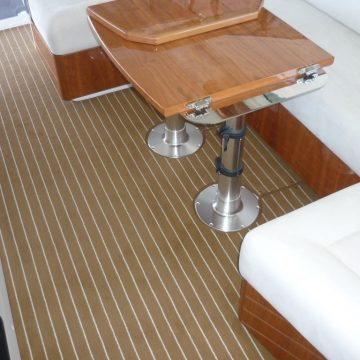 Marine Carpet Teak Teak Cream