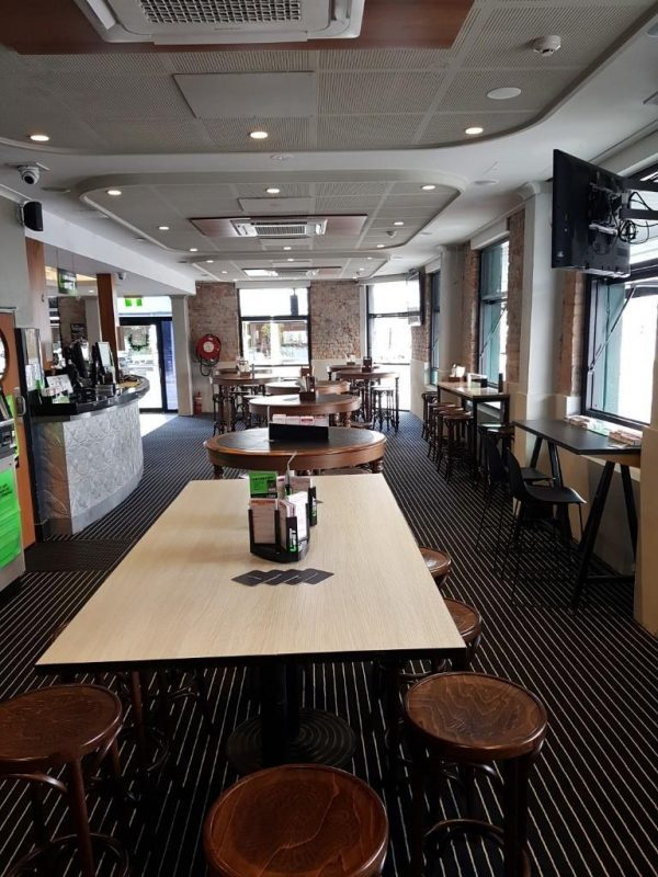Marine Carpet Teak Installation Queens Arms Hotel
