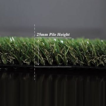 25mm Synthetic Grass Carpet plymouth_pileheight