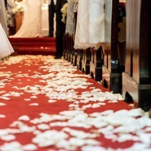 wedding or function red carpet runner