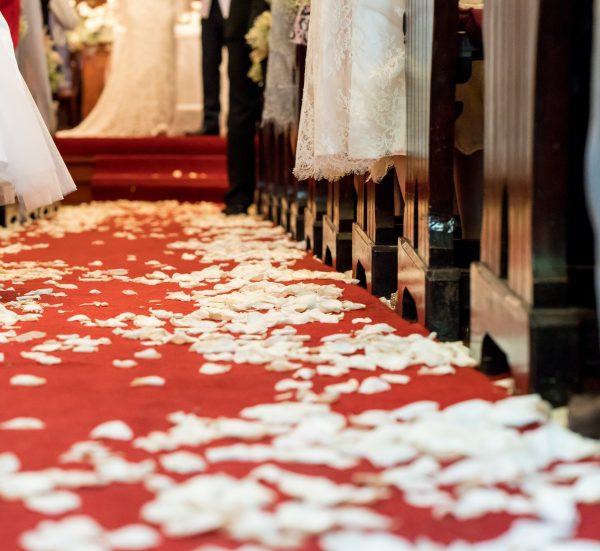 wedding or function red carpet runner