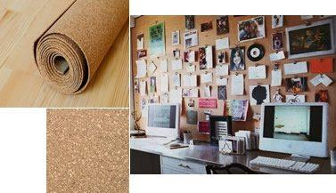 Home Cork Sheeting, Bulletin Board