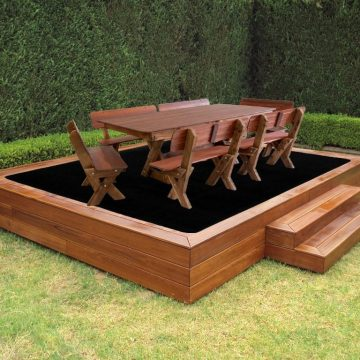Perfect for decking, poolside, and exterior living and dining areas.