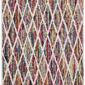 Modern Multi Coloured Rug