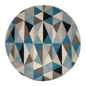 Gem Stone Designer Wool Rug