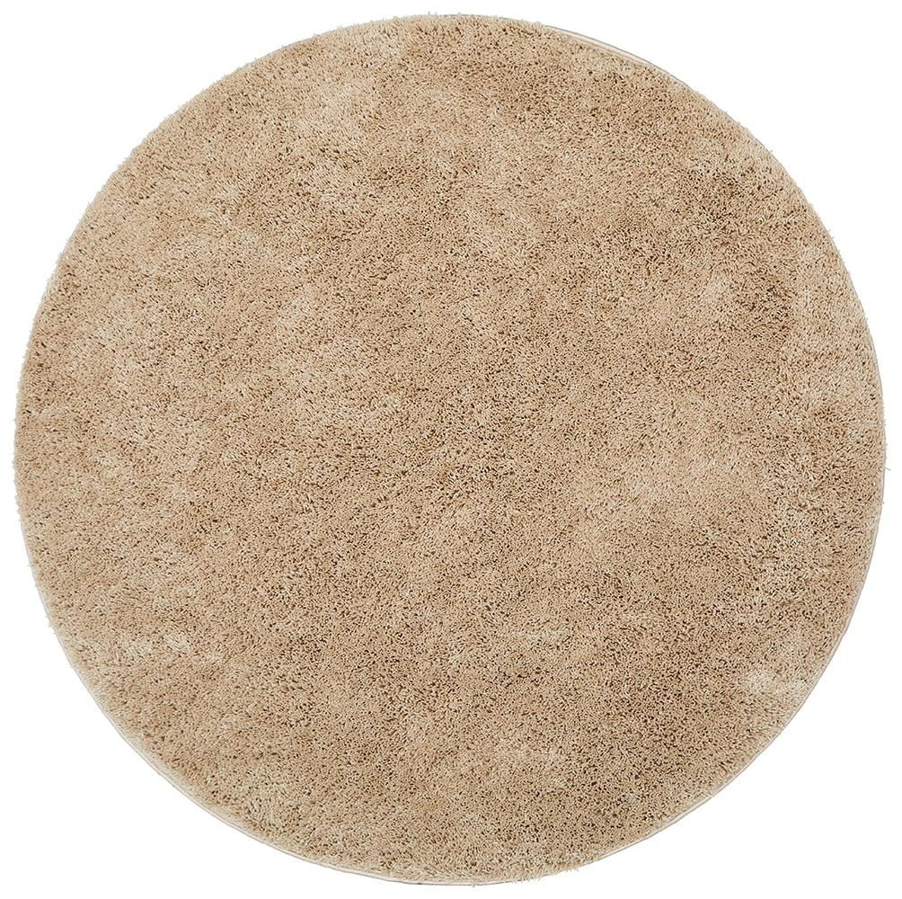 Freckles round shag rugs for Round carpets and rugs