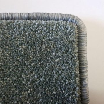 Indoor Mats With Carpet Overlocking Colour Silver Moon