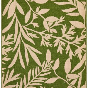 Green Malibu Outdoor Rug