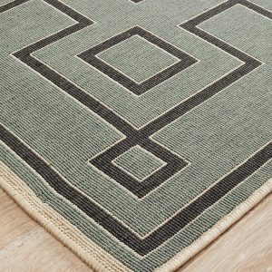 Teal Indoor | Outdoor Rug