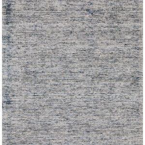Blue Cloud Indigo Cotton Rayon Rug
