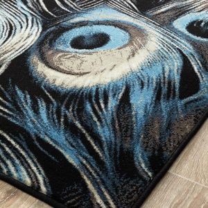 Feathers Furniture Rug