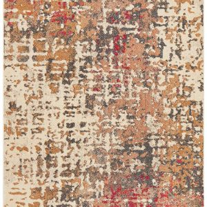 Pink Contemporary Pink Lounge Rug