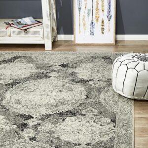 Charcoal Colour | Furniture Rug