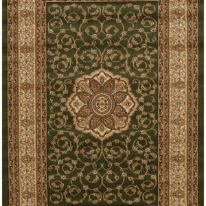 Classic Pattern Green Rug