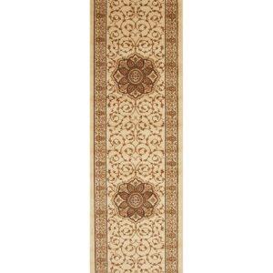 Classic Pattern Ivory Floor Rug