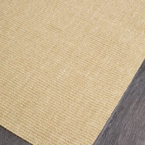 Sand Natural Sisal Rug Boucle Weave Colour Sand