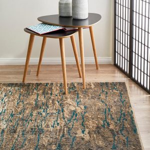 Blue Carpet Capers | Stunning Area Rug