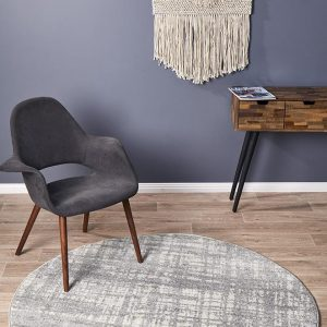 Abstract Rug | Colour Silver Grey | With Various Sizes