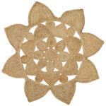 Round Jute Stella Rug From Carpet Capers