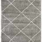 Grey Thickset Rug