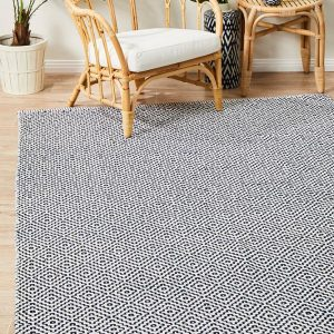 Navy Double Sided Eco Rug