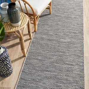 Grey Out-Of-Doors Rug