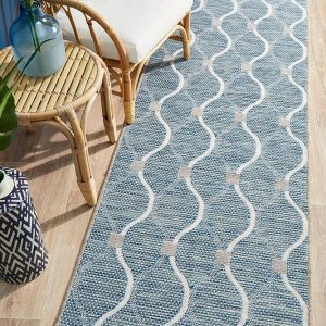Blue Alfresco Rug