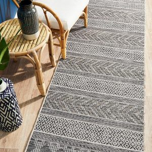 Grey Balcony Rug