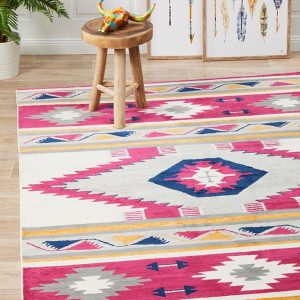 Pink Toned Rug