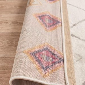 White Timid Rug