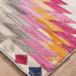 Pink Colourfull Rug