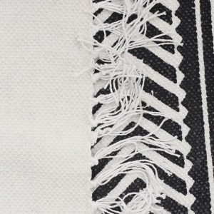 White Totemic Rally White Rug