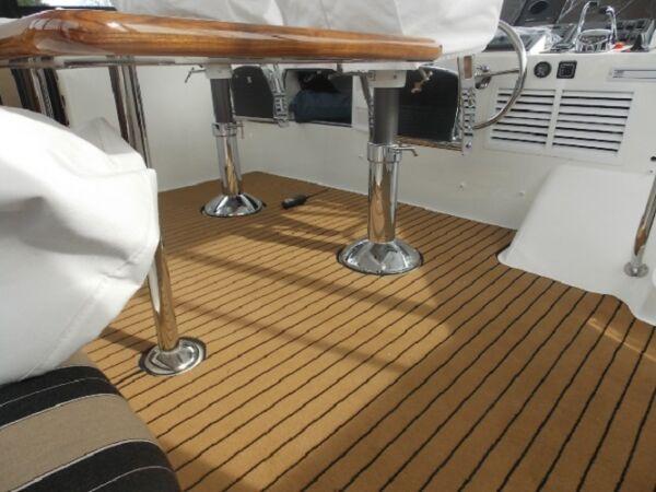 Boat Fitment Marine Carpet Teak Black