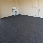 Marine carpet Garage Install