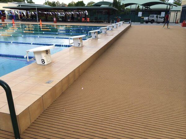 Pool Fitment Marine carpet TeakBlack