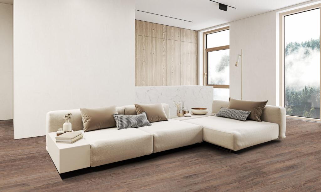Acoustic vinyl plank - Ebro
