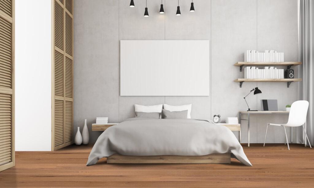 Vinyl plank flooring - Golden Pine